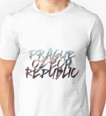Prague City Scape Unisex T-Shirt
