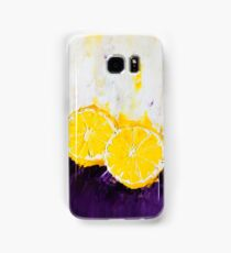 Lemon Scented Fruit Samsung Galaxy Case/Skin