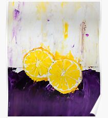 Lemon Scented Fruit Poster