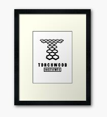 Torchwood institute Framed Print