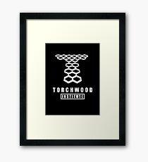 Torchwood institute - dr who Framed Print