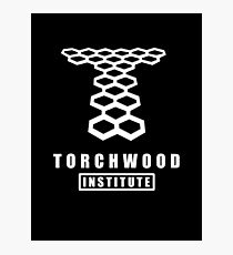 Torchwood institute - dr who Photographic Print