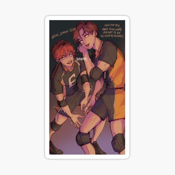taekook HQ au Sticker