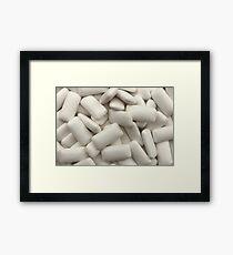 Chewing Gum Pellets Framed Print