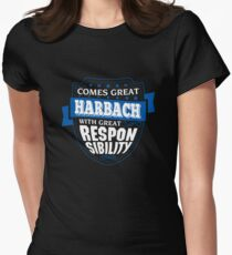 HARBACH-The-Awesome Women's Fitted T-Shirt