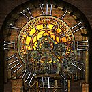 Vintage Steampunk Clock No.7, Steampunk Clock Tower Inner Workings by Steve Crompton
