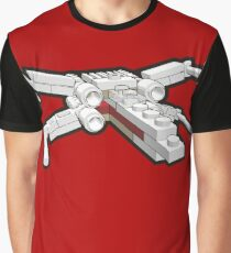 X-wing in bricks Graphic T-Shirt