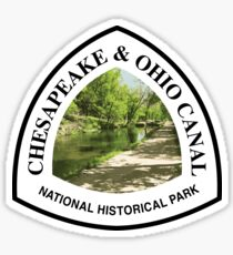 Chesapeake and Ohio Canal National Historical Park Sticker