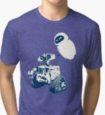 Wall e Tri-blend T-Shirt