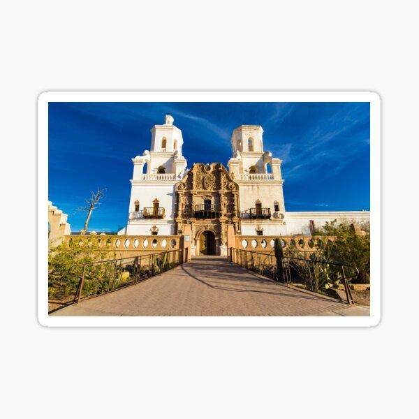 Mission San Xavier Sticker