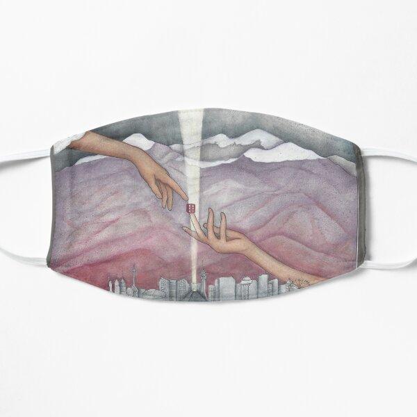 City of God, City of Destruction Flat Mask