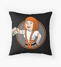 Supreme Vault Girl Throw Pillow