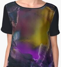 Esperas | Alcohol Ink Abstract Chiffon Top