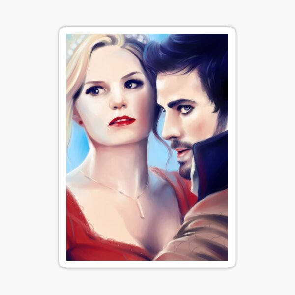 Captain Swan Sticker