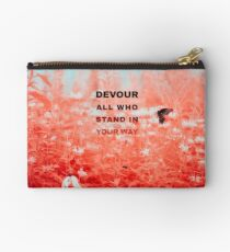 Devour All Who Stand In Your Way (Infrared/Butterfly) Studio Pouch