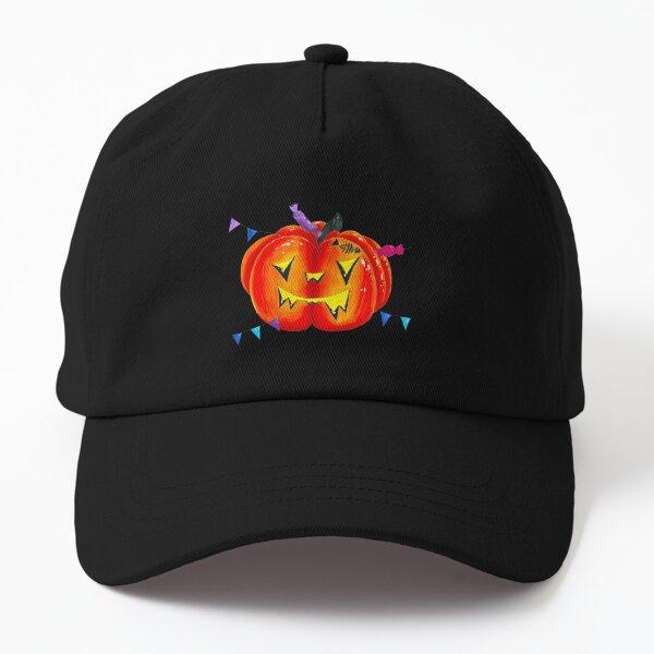 Pumpkin Jack Lantern Dad Hat