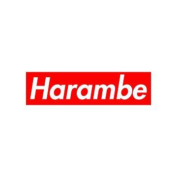 Harambe by nooob