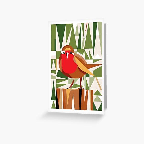 Roberta Robin Greeting Card