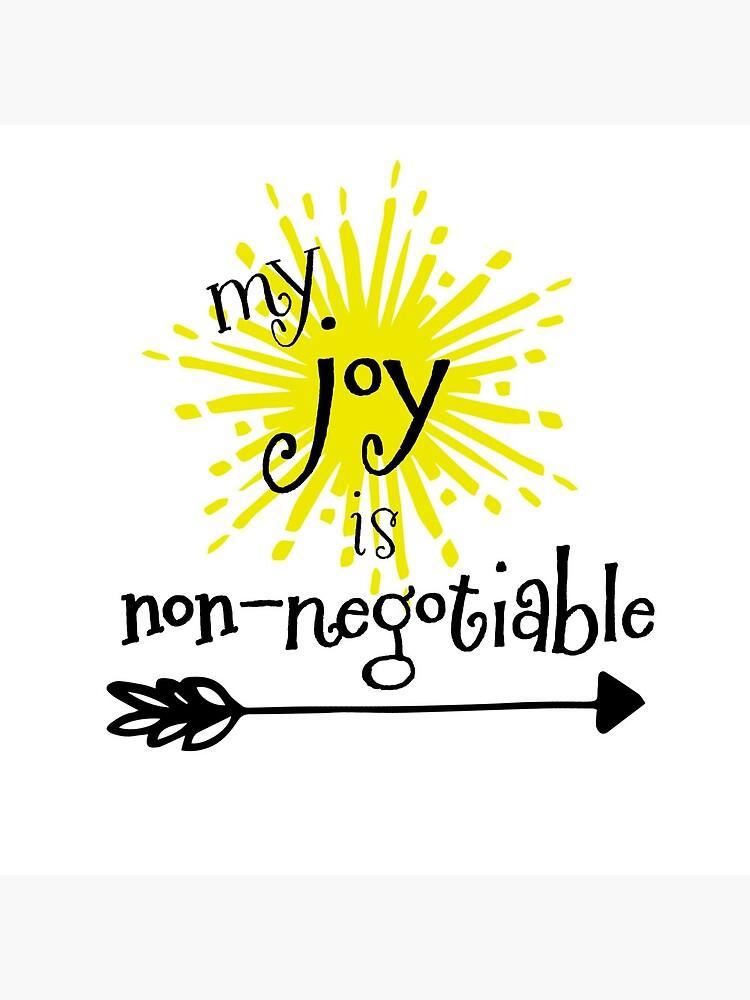 Mi alegría no es negociable de motivateme