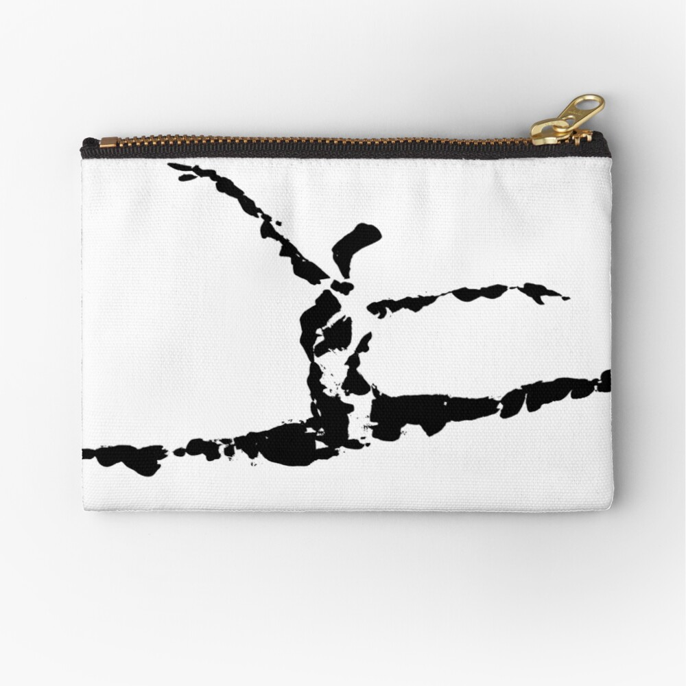 Leaping Zipper Pouch