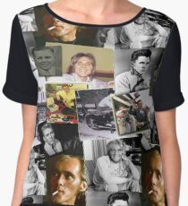 BILLY FURY through the ages Women's Chiffon Top