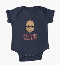 Taters Gonna Tate - Cool Potato One Piece - Short Sleeve