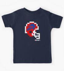 BUF Red Helmet - Tecmo Bowl Shirt Kids Tee