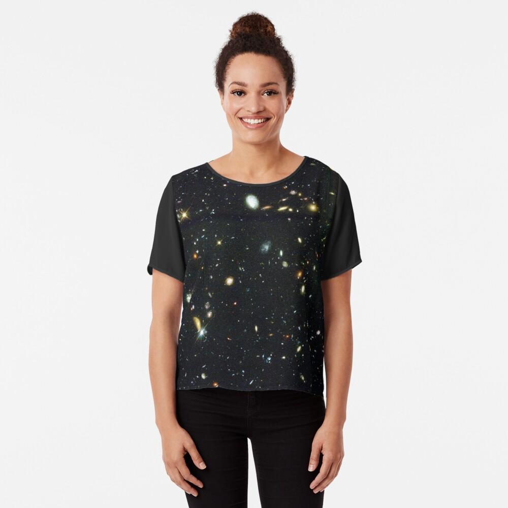 Das Hubble-Tiefenfeld Chiffon Top