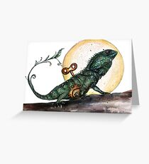 Croajingalong the dragon Greeting Card