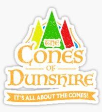 The Cones Of Dunshire Sticker