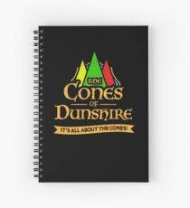 The Cones Of Dunshire Spiral Notebook