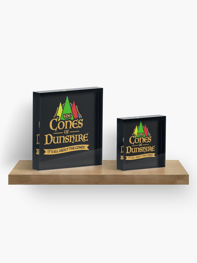 Alternate view of The Cones Of Dunshire Acrylic Block