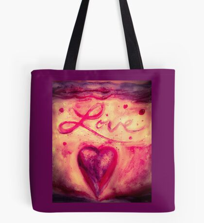Love Rules the Heart Tote Bag