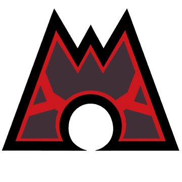 Pokémon - Team Magma Symbol by AngelGhosty