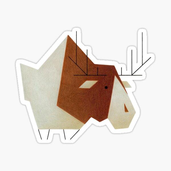 moose #01 Sticker
