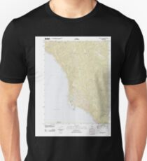 USGS TOPO Map California CA Shelter Cove 20120322 TM geo T-Shirt