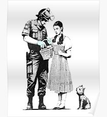 Banksy_Policeman Poster