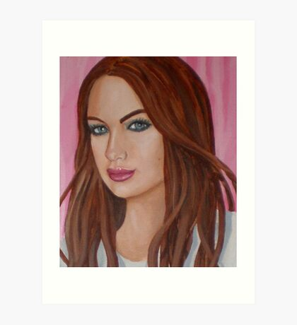 danielle's lip gloss Art Print