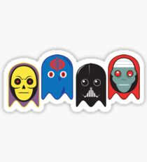 The Ghosts of Evil Men Sticker