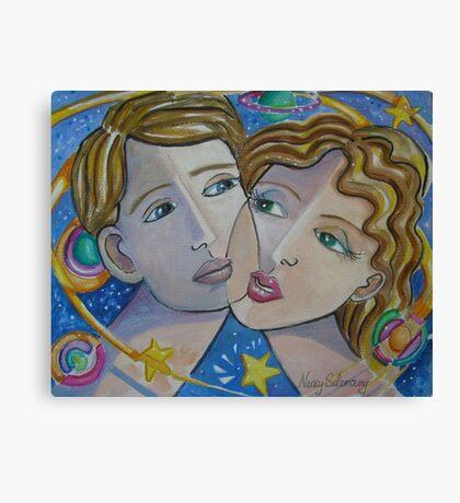 A Farewell Kiss Canvas Print
