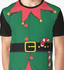 Green Elf Costume Graphic T-Shirt