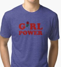 Girl Power Tri-blend T-Shirt