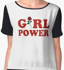 Girl Power Chiffon Top