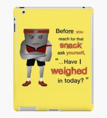 Weight Scale Fitness Trainer (F) iPad Case/Skin