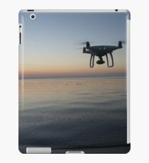 Drone sunset iPad Case/Skin