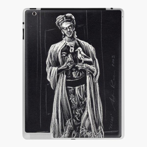 Frida Kahlo Sketch by Antonio Rael iPad Skin