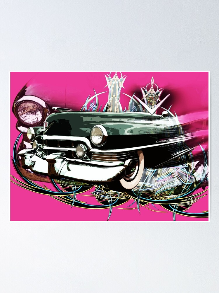 Pinstriping Poster By Scat53 Redbubble