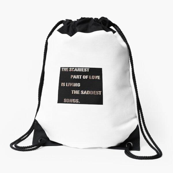 Man O Drawstring Bag