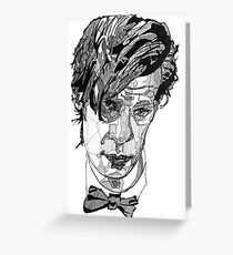11th Doctor  Greeting Card