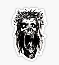 Sweet Zombie Jesus!!! Sticker